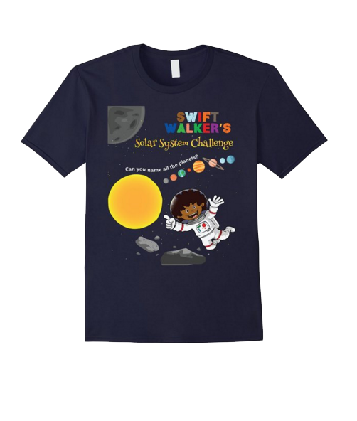Swift Walker's Solar System Challenge Tee